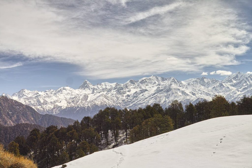 The view from Dayara Bugyal (Uttrakhand)